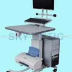 Hubtisch SKY-2593A 1 Instrument, PC, Printer, Monitor
