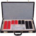 NEU 266 Trial Lens Set with Plastic Rim, CE High Quality (Aluminum Case)