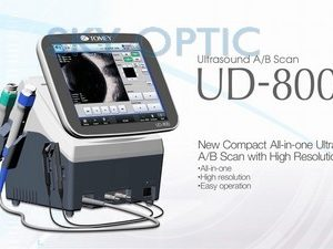NEW Tomey UD-800 Ultrasonic AB-SCANNNER, 2 in 1 instrument. INCLUDED A-Scan probe, B-scan probe