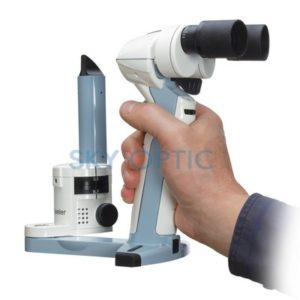 New Keeler PSL mobile LED slit lamp